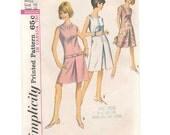 sewing pattern, Simplicity 6004, 1960's dress pattern, size 16 Bust 36,