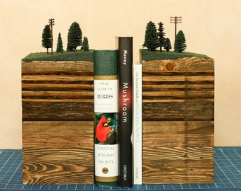 Bookends Of The Earth Mountains By Garthborovicka On Etsy