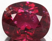 4.10 Ct. 100% Natural Red Rubellite Oval Gemstone