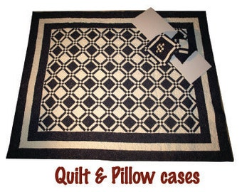 Quilt with Pillows