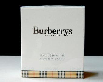 BURBERRYS For Women Perfume Eau de Parfum 1 oz Natural Spray Still Sealed Never Opened