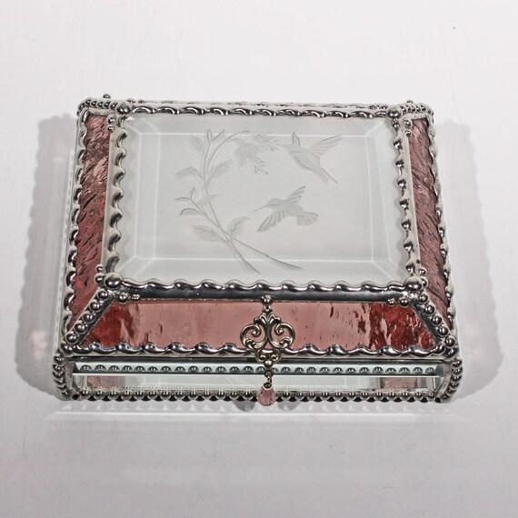 Hummingbird Fuchsia  - Treasure Box