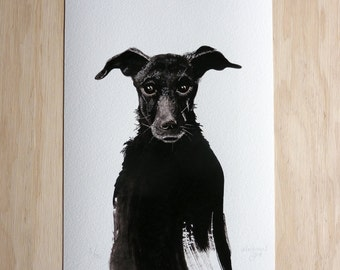 Black Dog 2014 - a limited edition fine art giclee print