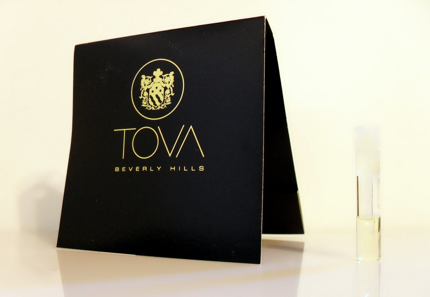 Vintage 1980s Tova by Tova Eau de Parfum Sample Vial on Card PERFUME