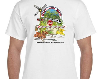 2XL - Florida Not All Aboard T-shirt