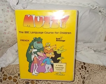 Hard To Find Muzzy The BBC Language Course for Children French /Not Included in Any Coupon Sales