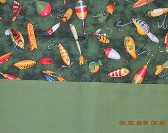 Fishing Lures & Bobbers Pillowcase