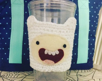 Finn the Human Coffee Tea Cozy