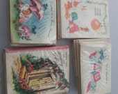 4 Packages of  Vintage MINI Invitation Cards Baby Shower ADOPTION Wedding PARTY