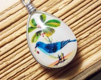 Bluebird Pendant