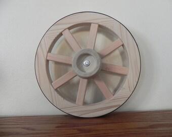 14 inch Western Style Wood Wagon Wheel