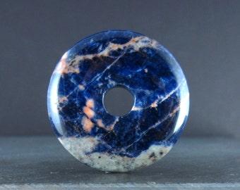 Beautiful large Sodalite , Natural cabochon, Focal piece, B5506