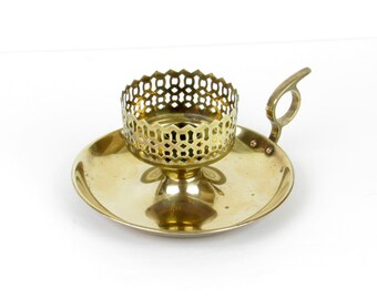 Brass Candle Holder - Made in India - Solid Brass