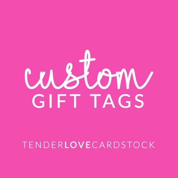 Custom Printed Gift Tags - Custom Branding. Etsy Shop Supplies. Hang Tags. Price Tags. Product Tags. Product Packaging. Clothing Tag.