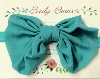 Tropic Bow Headband, Baby Headbands, Baby Girl Headbands, Infant Headbands, Baby Bow, Infant Bow, Girl Headband