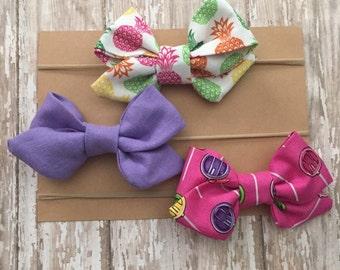 Fabric Bow Headbands