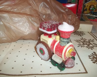 1981 Hallmark Candyville Express Train Vintage Christmas Ornament