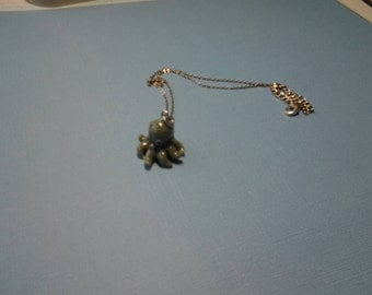 Glass Octopus Necklace
