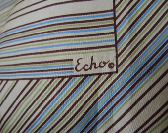 Vintage 1970s Echo scarf made in Japan  23 x 23 inches