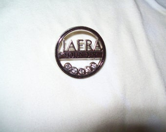 vintage Jafra silvertone brooch