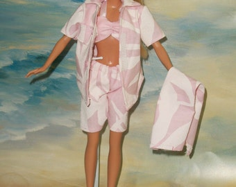 Barbie Board Shorts & Accessories Choice of 5 Styles