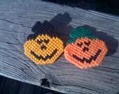 Handmade Jack O'Latern Pins