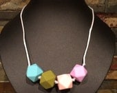 Silicone Teething and Nursing Necklace - Cheyenne
