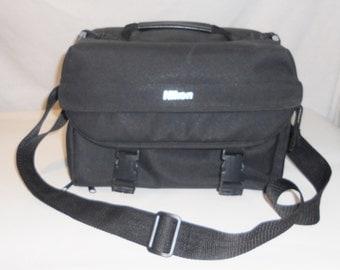 Large Nikon Camera Gadget Bag Case, Film or Digital.
