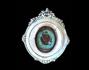 Found Object Industrial Zen Assemblage/ Aqueous Chroniker