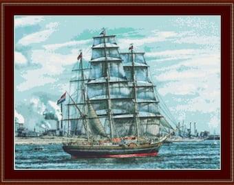 Sails Cross Stitch Pattern