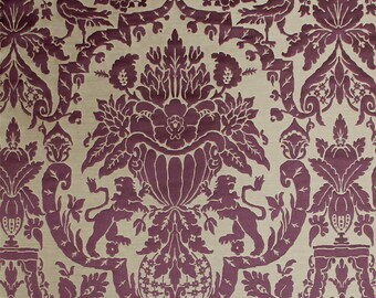 SCALAMANDRE GOLD ROOM Silk Brocatelle Fabric 5 Yards Special