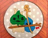 The Legend of Zelda: Wind Waker--Makar Embroidery