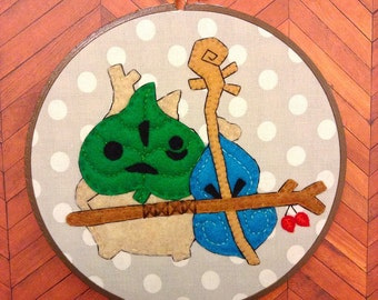 The Legend of Zelda: Wind Waker--Makar Embroidery--7 inches