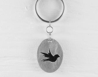 Bird keychains :. Aluminum - Decoration