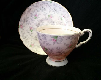 Wedgewood by Tuscan Tea Cup and Saucer