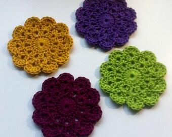 Crocheted Coasters/Small Mats