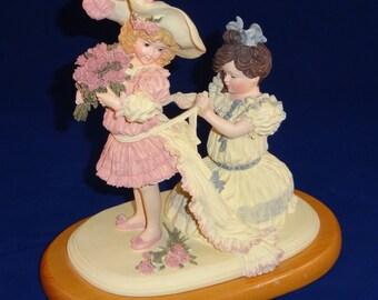 Playing Bridesmaid by Maud Humphrey Bogart, Limited Edition Figurine