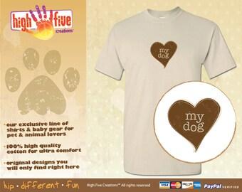 Dog T-Shirt - Love My Dogs
