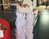 Wooden Hanging Santa