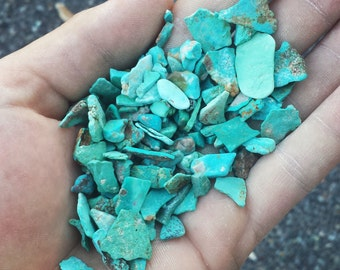 100 Grams Rough Turquoise Natural Nevada