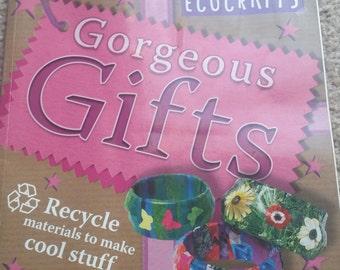 Supplies fresh ( unique ) Ecocraft  book. Make a bracelet. .