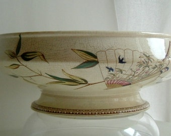 Special Price - Antique 1881 Aesthetic Mvmt JF Wileman Foley Potteries Staffordshire Willow