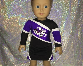December 5th, 2016 American Girl Doll Custom Cheer Uniform