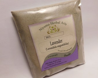 Lavender Powder, Lavandula angustifolia , Available in multiple sizes