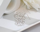 The Cadence Earrings - Silver