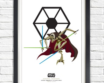 Star Wars - Solo Series - General Grievous- 19x13 Poster