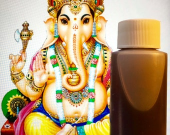 Mantrik Oil Formula 1 with Root: Luck Power Conquer Problems Overcome Obstacles