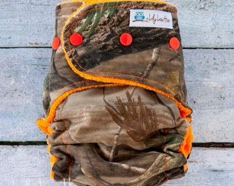 "AI2 Cloth Diaper- ""Camo"""