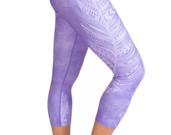 Feather Yoga Capri