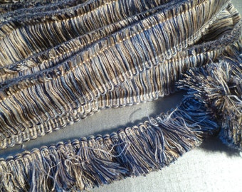 Vintage Fringe Trim Trimming Tassel Sewing Embellishment Supply Curtain Cushion Project Upholstery Lampshades (9 Yards)
